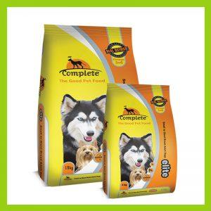 Complete Elite Dog Food Ostrich Flavoured