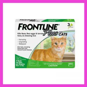 Frontline Plus Cat Tick & Flea Treatment 10 x 1 Pip Green