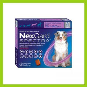 NexGard Spectra Chewable Tablet  15.1 – 30 kg