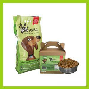 Dogsense Small – Medium Breed Adult 7kg Green Pack