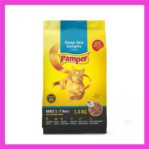 Pamper Deepsea Delight Adult Cat Food