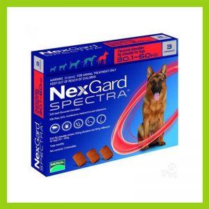 NexGard Spectra Chewable Tablet 30,1 – 60 kg