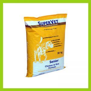 Super Vet Senior Dog Food Yellow Pack