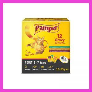 Pamper Multipack Gravy Favourite 12 x 85g