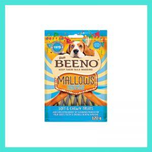 Beeno Mallows Peanut butter Flavoured Swirls 120g